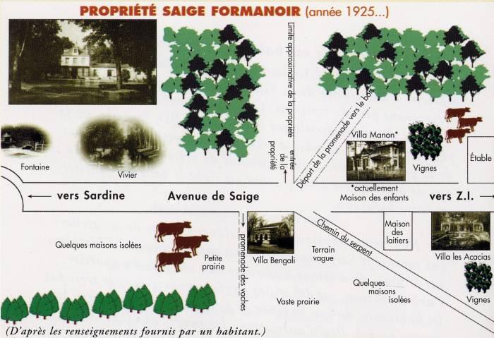 plan propriété Formanoir