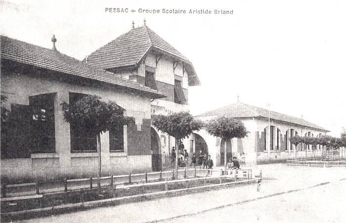 Autour de l'école Aristide Briand