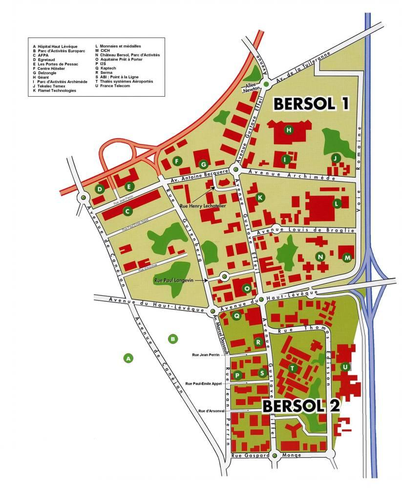 Parcs industriels Bersol 1 et 2