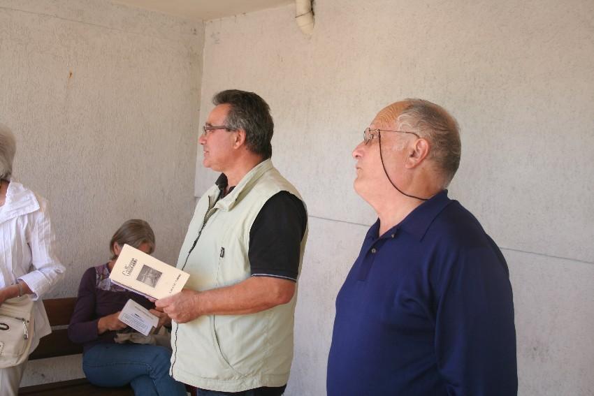De gauche à droite : Jean-Claude Caron, Jacques Clémens