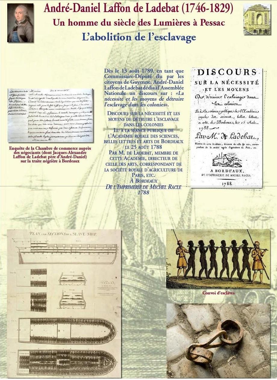 L'abolition de l'esclavage : son discours abolitionniste de 1788