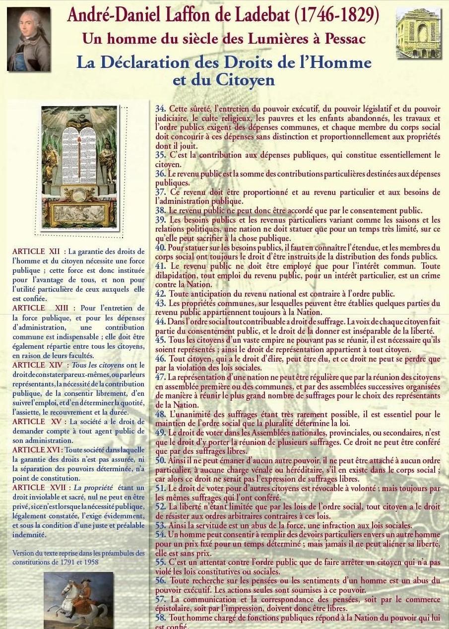 La Déclaration des Droits de l'Homme et du Citoyen : suite et fin