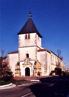 L'église Saint Martin à Pessac