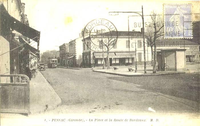 La Place et la Route de Bordeaux